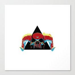 Illuminati Satan - Lucifer Canvas Print