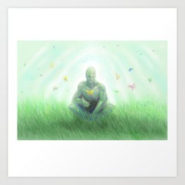 Green Dream Art Print