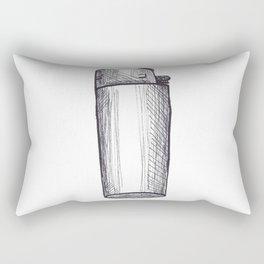 Need a light? Rectangular Pillow