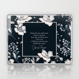When the day shall come that we do part... Jamie Fraser Laptop & iPad Skin