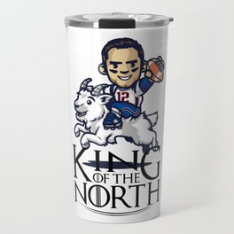 Tom Brady - king of the north Travel Mug