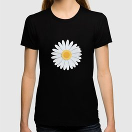 Spring Daisies_Greenery T-shirt