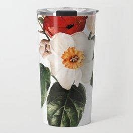 Spring Flowers Bouquet Travel Mug