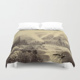 Chalk Creek Cañon Duvet Cover