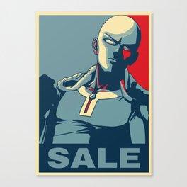 "Saitama ""Sale"" Canvas Print"