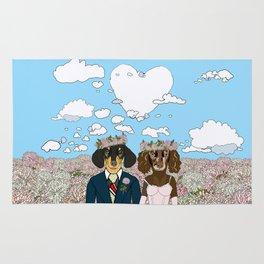 Dachshund Lovers - Honeymoon Rug