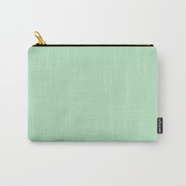 Mono Colour Light Green Carry-All Pouch