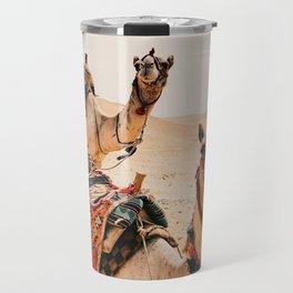 Camels Travel Mug