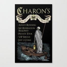 Charon's Ferry Service Canvas Print