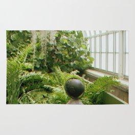 Green Globe Rug