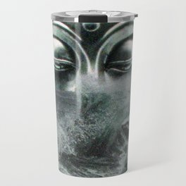 Buddha in the sea Travel Mug