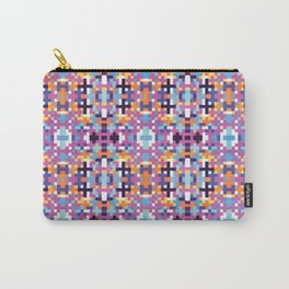 Pixel pattern  Carry-All Pouch