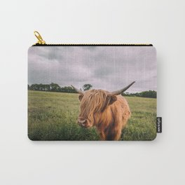 Epic Highland Cow Carry-All Pouch