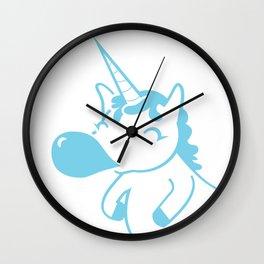 Kpop iFan Bubblegum Unicorn Wall Clock