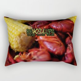 Bayou Life - Crawfish Boil Rectangular Pillow
