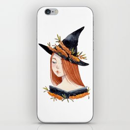 Sea Buckthorn Witch iPhone Skin