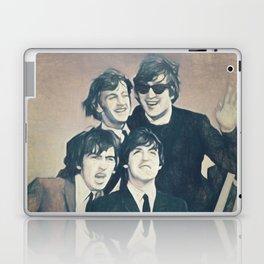Beatle - John, Paul, George, and Ringo Laptop & iPad Skin