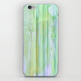 Cool Waves Of Color Abstract iPhone Skin