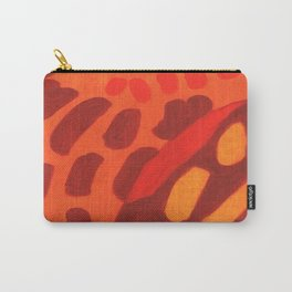 Abstract Impro Carry-All Pouch