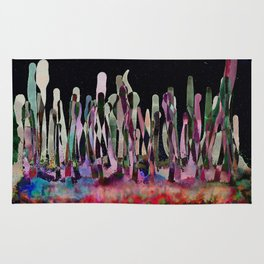 Dripping Spectral Forest Rug