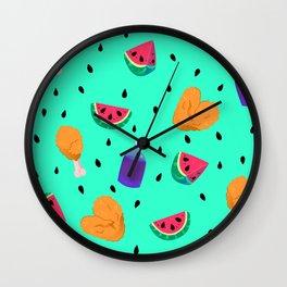 Reclaiming Comfort Wall Clock