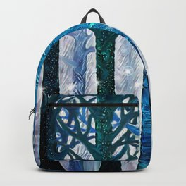 The forest of fireflies Backpack