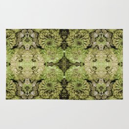 Forest fairy floral,nature, woodland, hippie, mandala, psychedelic Rug