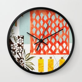 Haberdashery Wall Clock