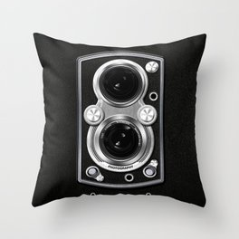 Vintage Camera Throw Pillow
