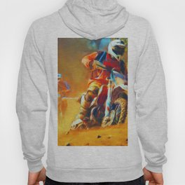 Motor Bike Sport Race Painting Hoody