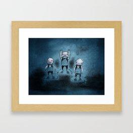 Winnaz Framed Art Print