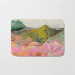 summer landscape Bath Mat