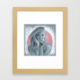 Ellie Goulding  Framed Art Print