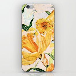 Wordsworth  and the daffodils. iPhone Skin