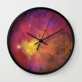 Nebula (plain) Wall Clock