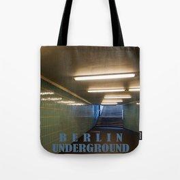 Tube Station - Fehrbelliner Platz - BERLIN UNDERGROUND Tote Bag