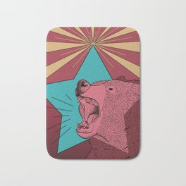 Star Beary Bath Mat