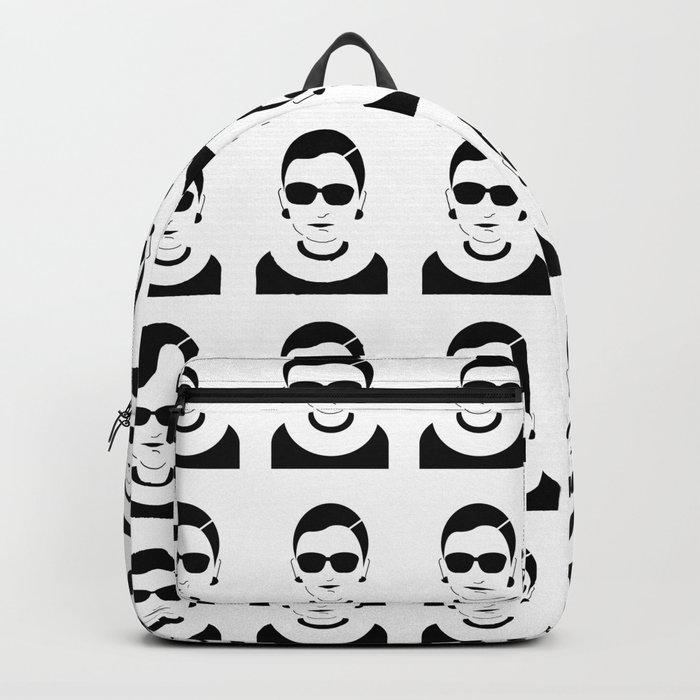 notorious rbg ruth bader ginsburg backpack by katiekatherine society6