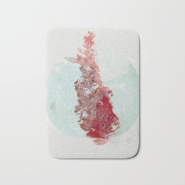 Aimless in Abstract Form Bath Mat