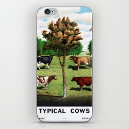 Typical Cows iPhone Skin