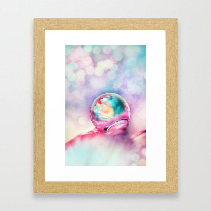A Drop of Fun Framed Art Print