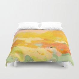 abstract spring sun Duvet Cover