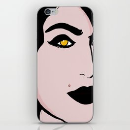 MARILYN CROWE iPhone Skin