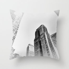 New York cj Throw Pillow