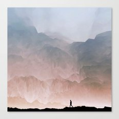 I wander Canvas Print