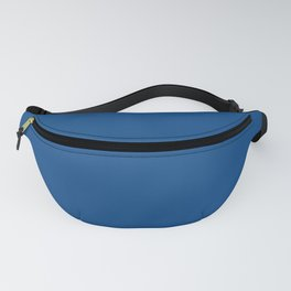 Pug Ride ~ Dodger Blue Coordinating Solid Fanny Pack