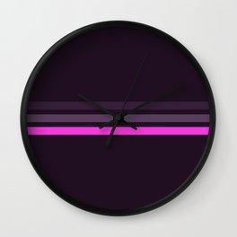 Alamak - Classic Retro Stripes Wall Clock