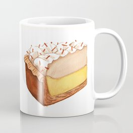 Coconut Cream Pie Slice Coffee Mug