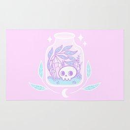 Pastel Terrarium / Pink Rug