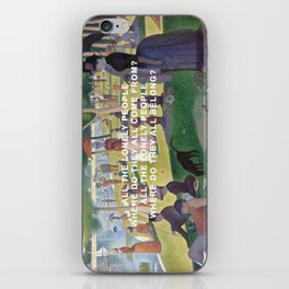A Sunday Afternoon with Eleanor Rigby iPhone Skin